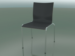 Chair with four legs and extra width, without upholstery (121)
