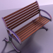 modello 3D di Panca da giardino comprare - rendering