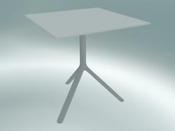 Tavolo MIURA (9580-01 (70x70cm), H 73cm, bianco, bianco)