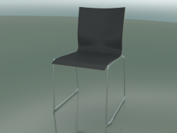Sliding chair, with extra width, without upholstery (127)