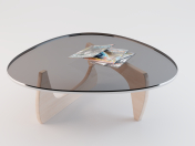 Table (Vitra White Coffee Table)