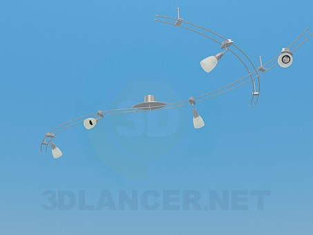 3d модель Комплект подвесных светильников – превью
