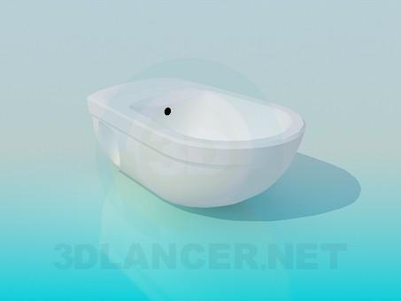 modelo 3D Bidé de colgar - escuchar