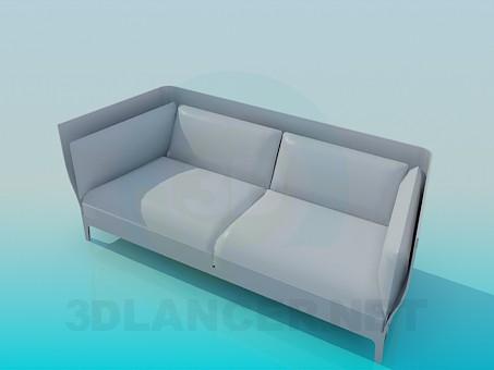 3d model Comfortable sofa - preview