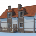 3 डी देश के घर मॉडल खरीद - रेंडर