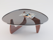 Table (Vitra Red Coffee Table)