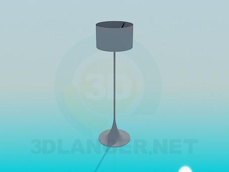 descarga gratuita de 3D modelado modelo Alta lámpara de pie