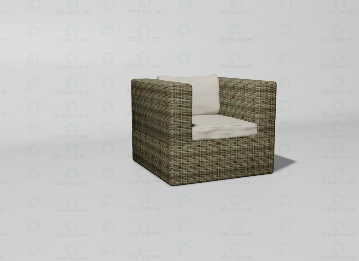 3d model Sahara chair - preview