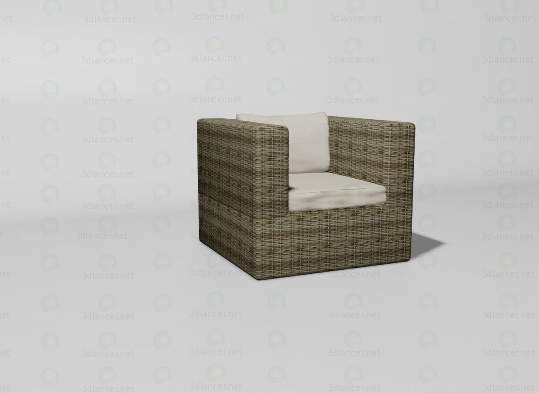 3d model Sahara chair - preview