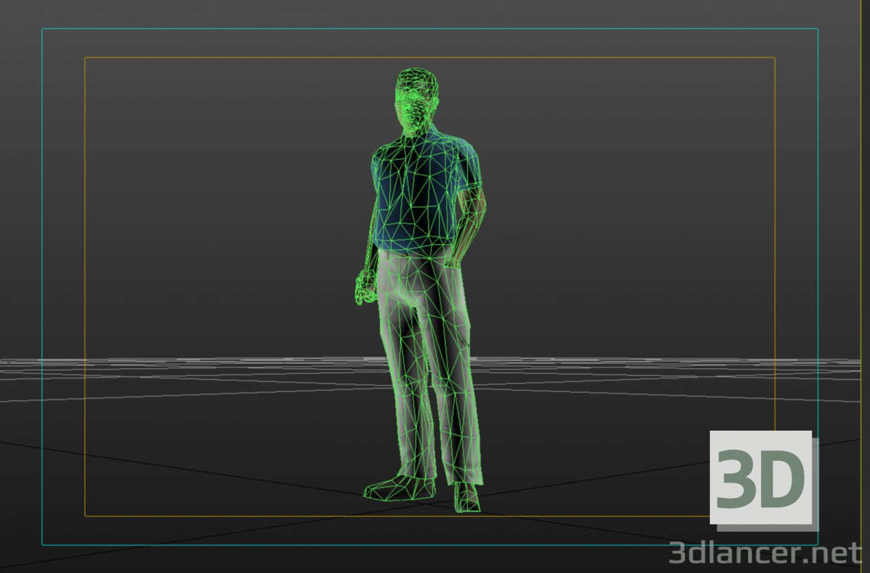 3d model Human - preview