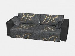 Sofa bed Venus (II option, with pillows, 247x130)