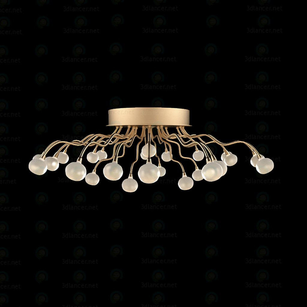 3d  Chandelier  model buy - render