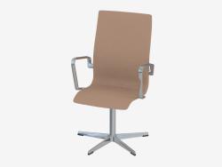 कार्यालय की कुर्सी ऑक्सफ़ोर्ड (बिना पीठ के पहियों के)