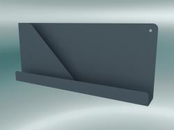 Ripiano ripiegato (51x22 cm, Blu-Grigio)