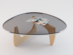 Table (Vitra Orange Coffee Table)