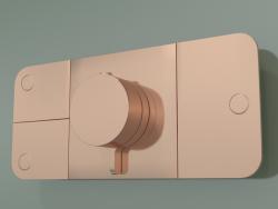 Shower faucet, 3 outlets (45713300)