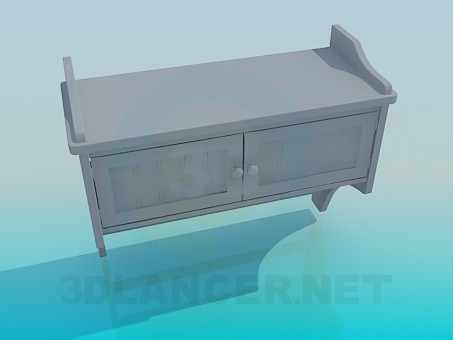 3d model Regiment-cabinet - preview