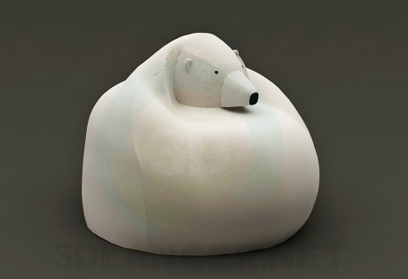 3d model Bag bear (Chair) - preview