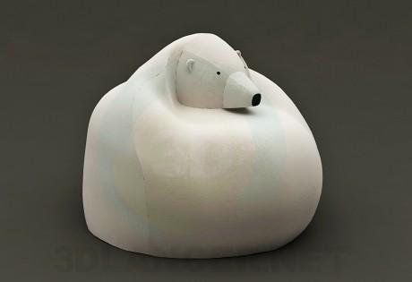 3d model Bag bear (Chair) - preview