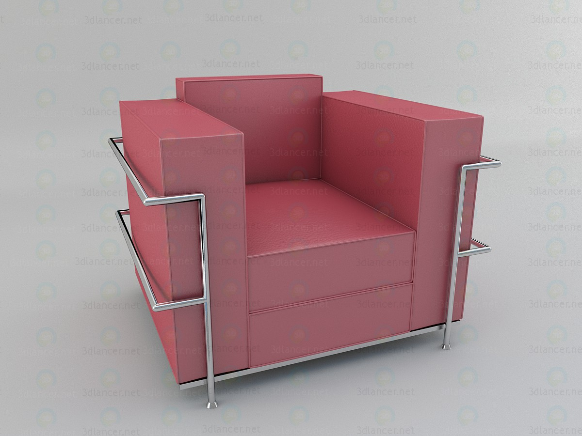 Armchair paid 3d model by windowsyura preview