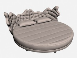 Bed double circular CONSTELLATION