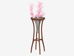 Flower vase in the stand (art. JSL 3426)