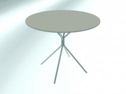 Tavolo tondo medio (RH30 cromato G3, Ø 800 mm, H660 mm)