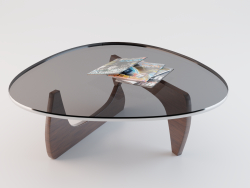 Table (Vitra Brown Coffee Table)