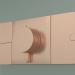 3d model Shower faucet, 3 outlets (45713310) - preview