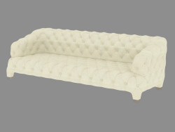 Sofa straight Cloud (260)