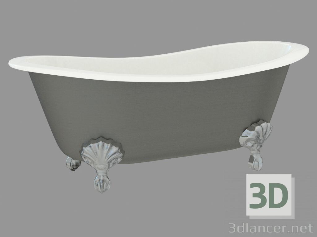 3d model Cast Iron Bath Admiral Lux manufacturer Devon & Devon in ...