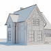 3d Country house model buy - render