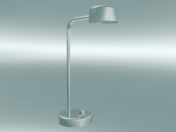 Table lamp Working Title (HK1, Hand polished aluminum)