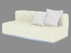 Double sofa straight Diamante (200)