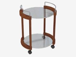 Table serving on wheels (art. JSD 4503a)