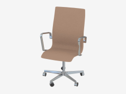 Office chair Oxford (with castors and middle back)