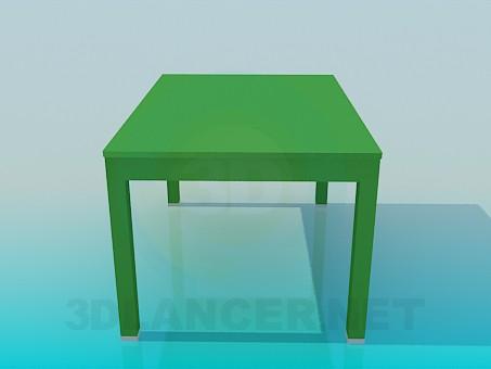 modelo 3D Mesa normal - escuchar
