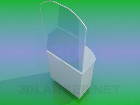 3d model Washbasin - preview
