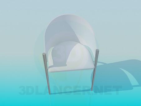 3d модель Стул-кресло – превью