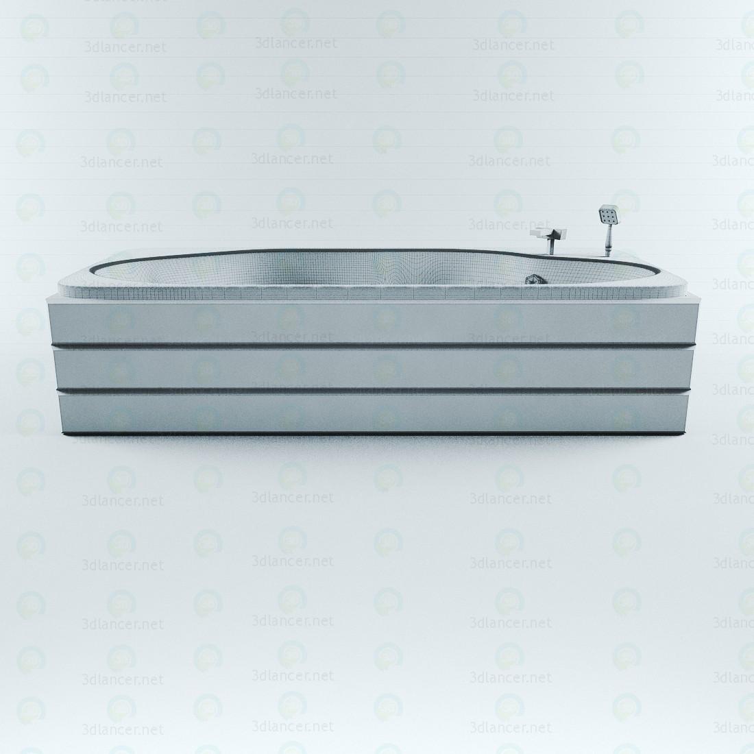 3d Ванна акриловая модель купить - ракурс