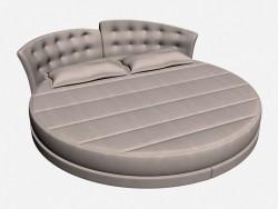 Bed round double FELIX