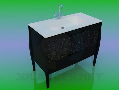 3D modeli Lavabo - önizleme