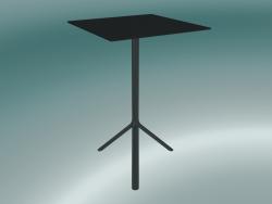 Tavolo MIURA (9580-71 (70x70cm), H 108cm, nero, nero)