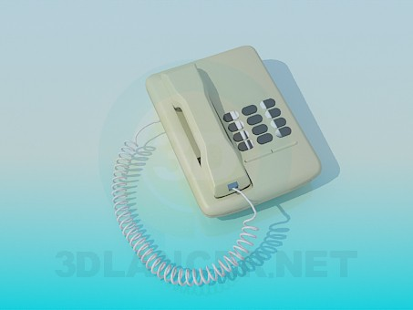 3d model Telephone - preview