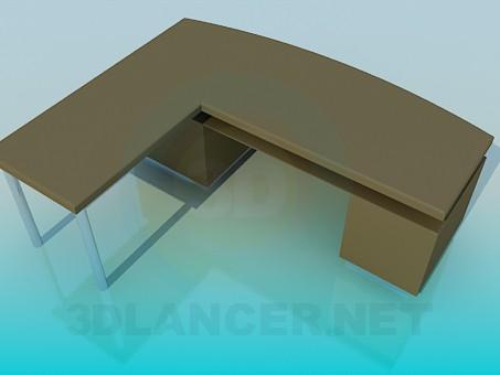 descarga gratuita de 3D modelado modelo Mesa de funcionamiento del ángulo