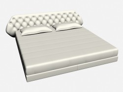 Bed double FLY CAPITONNE