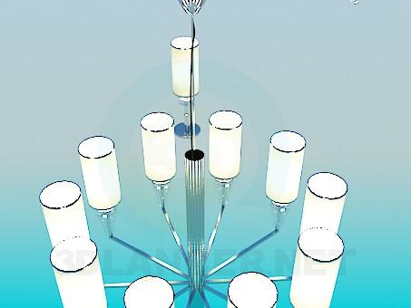 modello 3D Set di illuminazione - anteprima