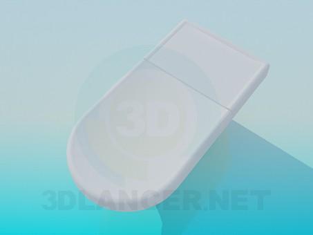 modelo 3D Armario lavabo con cubierta de - escuchar