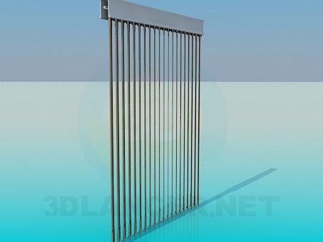 3d model Vertical blinds - preview
