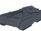 "Futuristic tank ""Mark"""